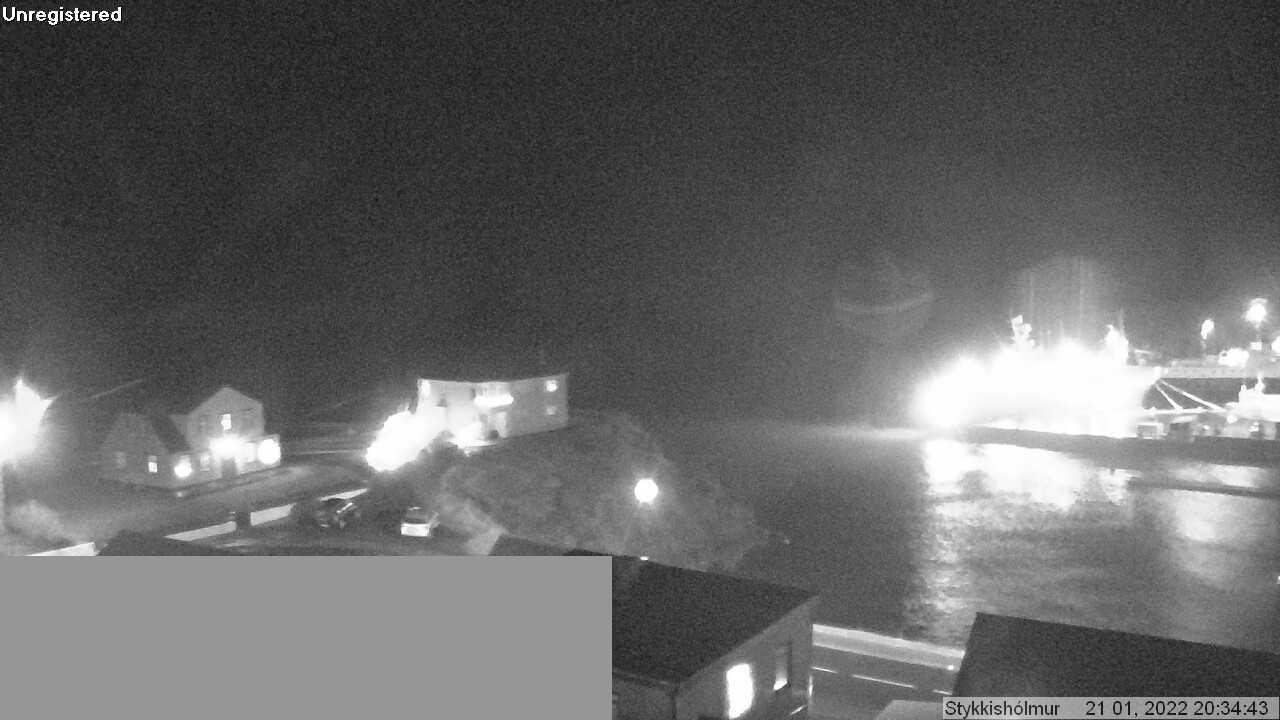 Webcam: Stykkisholmur, Islanda
